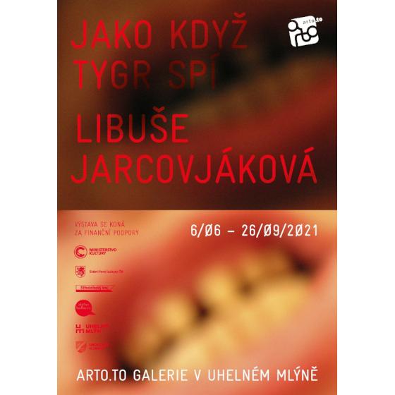 Libuše Jarcovjáková<br>Jako když tygr spí<br><b><font color=red>Výstava</font></b>