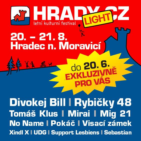 HRADY CZ - LIGHT Hradec nad Moravicí<br>Permanentka