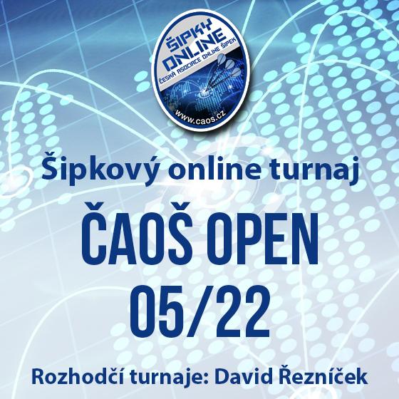 Šipkový turnaj - OPEN ČAOŠ 05/22