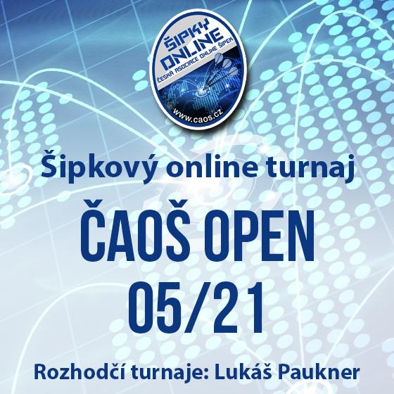 Šipkový turnaj - OPEN ČAOŠ 05/21