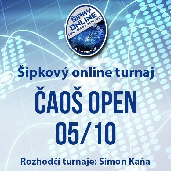 Šipkový turnaj - OPEN ČAOŠ 05/10