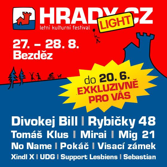 HRADY CZ - LIGHT Bezděz<br>Permanentka