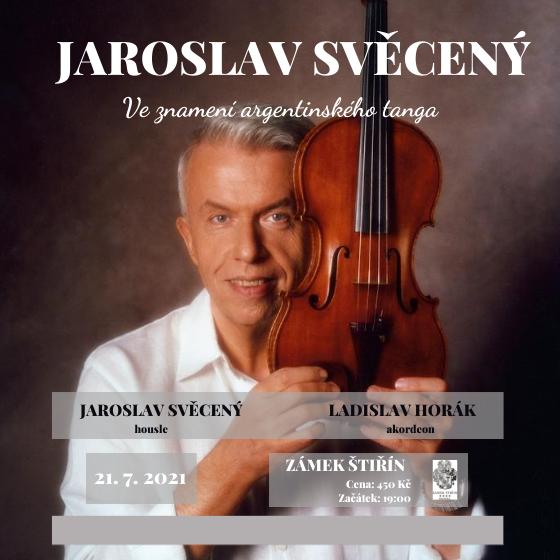 Jaroslav Svěcený<br>Ve znamení argentinského tanga<br>Letní galakoncert