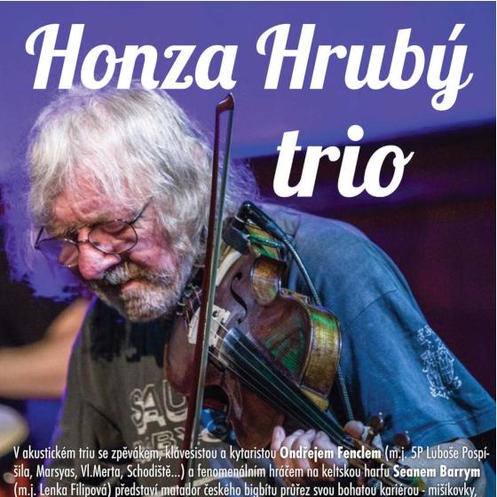 Jan Hrubý a trio<br>křest CD Kouzlo okamžiku
