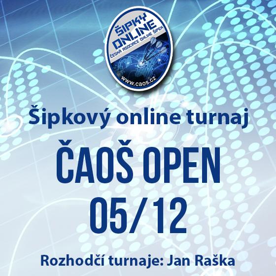 Šipkový turnaj - OPEN ČAOŠ 05/12