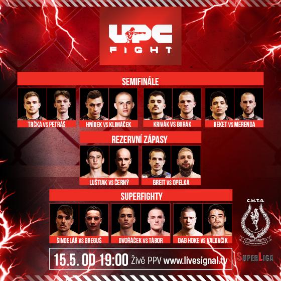 UPC Fight 2: Cesta bojovníka<br>Semifinále