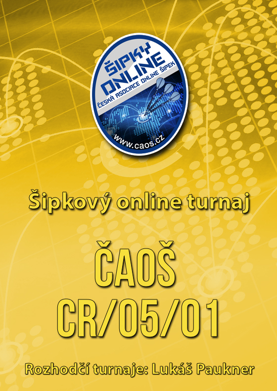 Šipkový turnaj - ČAOŠ CRICKET CR/05/01