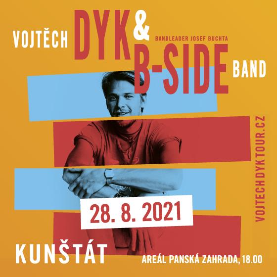 Vojtěch Dyk & B-Side Band<br>bandleader Josef Buchta