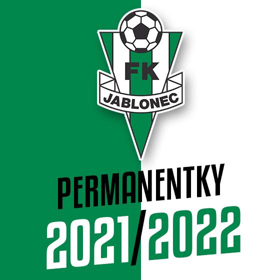FK Jablonec<br>Permanentka I. liga<br>Season 2021/2022