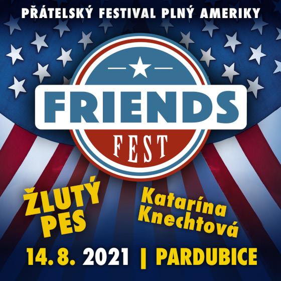 FRIENDS FEST 2021- Pardubice- KATARÍNA KNECHTOVÁ, ŽLUTÝ PES -Dostihové závodiště Pardubice Pardubice