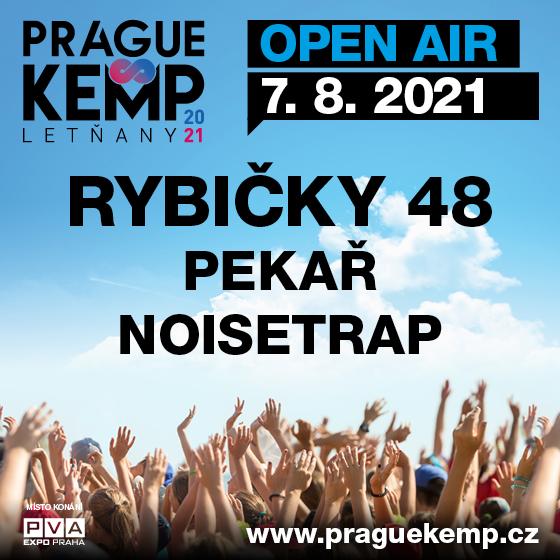 Rybičky 48<br>Pekař, Noisetrap<br>Prague Kemp Letňany