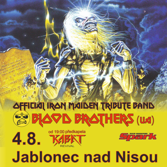 Blood Brothers<br>Iron Maiden Tribute Band (UA)