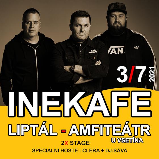 Iné Kafe<br>Speciální hosté: CLERA + DJ:Sáva