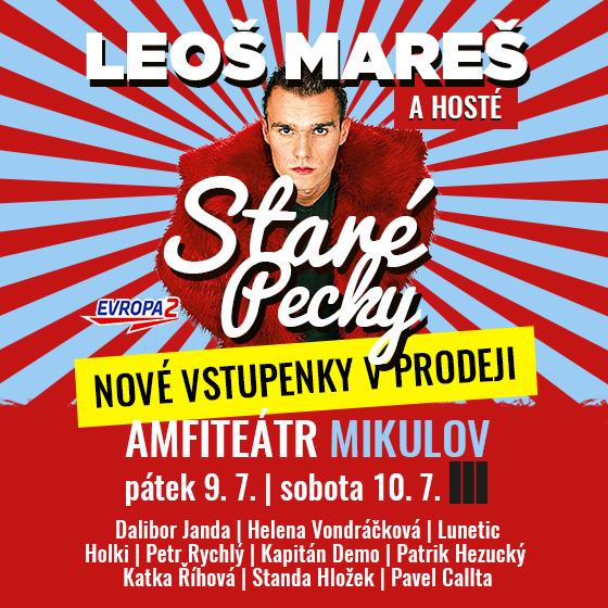 Leoš Mareš a hosté<br>Staré Pecky