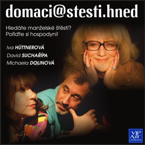 Domaci stesti hned<br>Pražské divadelní léto