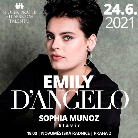 """Emily D'Angelo<br>Koncert v cyklu: ,,Talenty světové opery"""""""