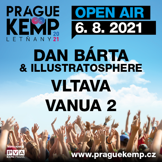 Dan Bárta & Illustratosphere<br>Vltava, Vanua 2<br>Prague Kemp Letňany