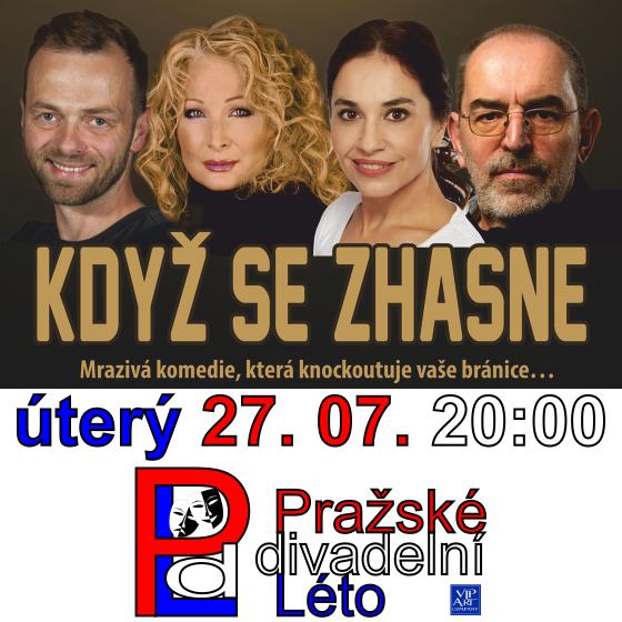 Když se zhasne<br>Pražské divadelní léto