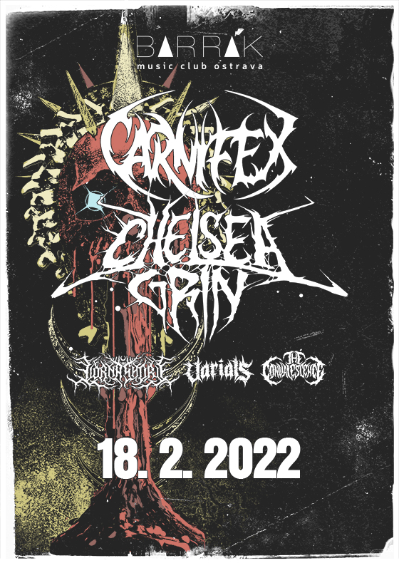 Carnifex, Chelsea Grin, Lorna Shore, Varials, The Convalescence