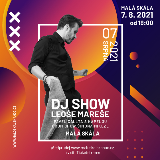 Live!Léto 2021<br>DJ Show Leoše Mareše