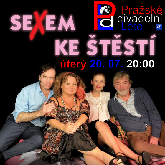 PRAŽSKÉ DIVADELNÍ LÉTO 2021/Sexem ke štěstí/- Praha -KCP - Kongresové centrum Praha Praha