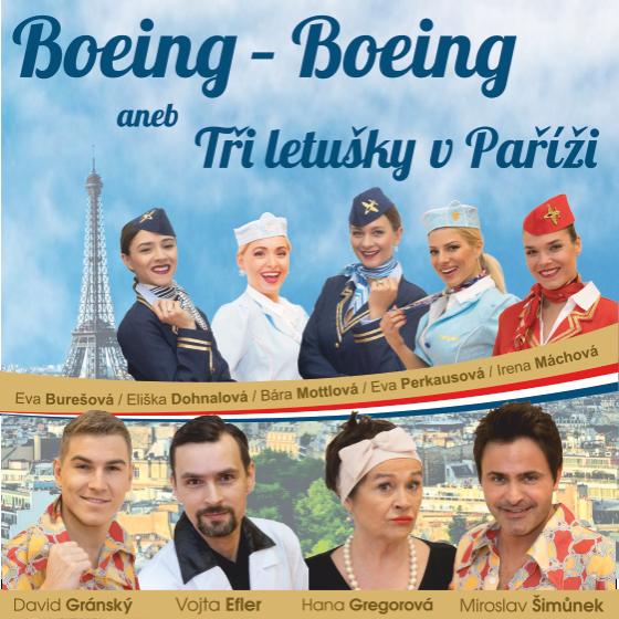 Boeing - Boeing aneb Tři letušky v Paříži<br>Pražské divadelní léto