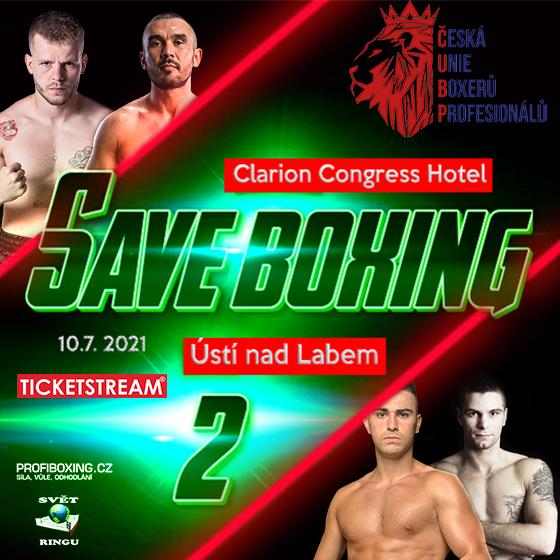 Save Boxing II.<br>Záznam přenosu mezinárodní sportovní akce