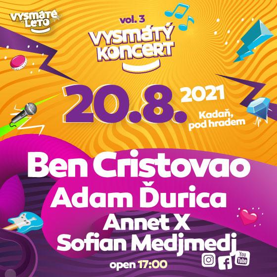 Vysmáté léto volume 3<br>Ben Cristovao, Adam Ďurica, Sofian Medjmedj