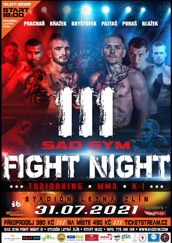 Sad Gym Fight Night 3