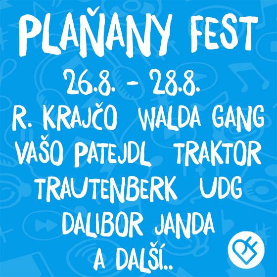 Plaňany Fest 2021<br>10. ročník hudebního festivalu