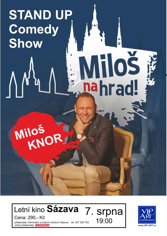 STAND UP Comedy Show - Miloš KNOR