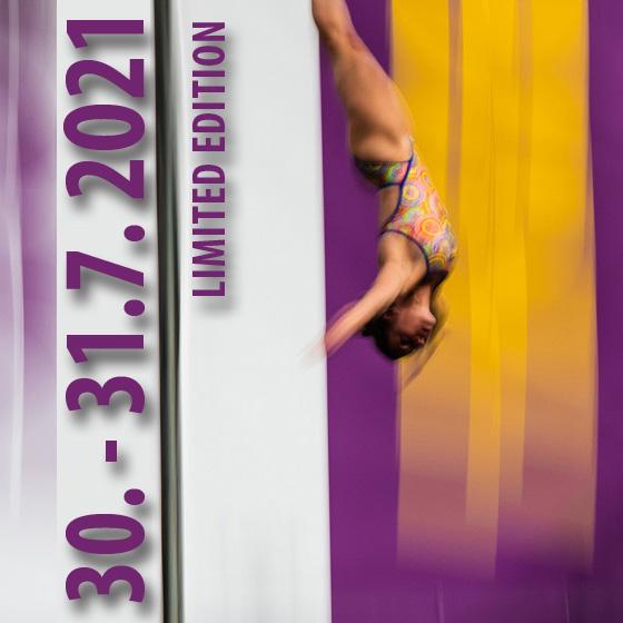 HIGHJUMP 2021<br><b>Limited edition</b><br>22. ročník mistrovství ČR<br>v extrémních skocích do vody