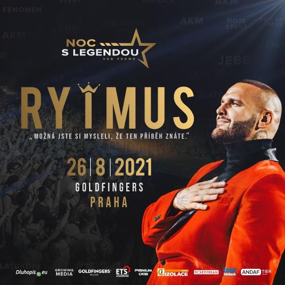NOC S LEGENDOU- Rytmus- Praha -Goldfingers Prague Praha