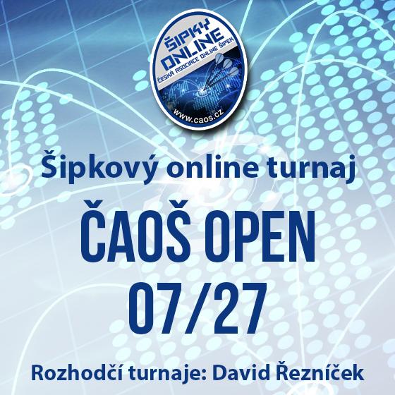 Šipkový turnaj - ČAOŠ OPEN 07/27