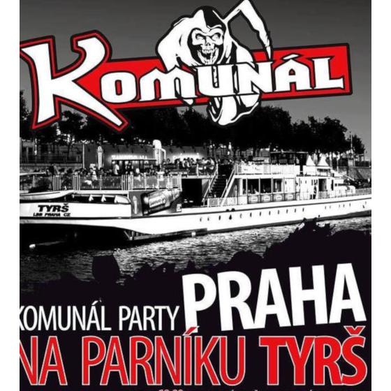 Komunál<br>party na parníku Tyrš