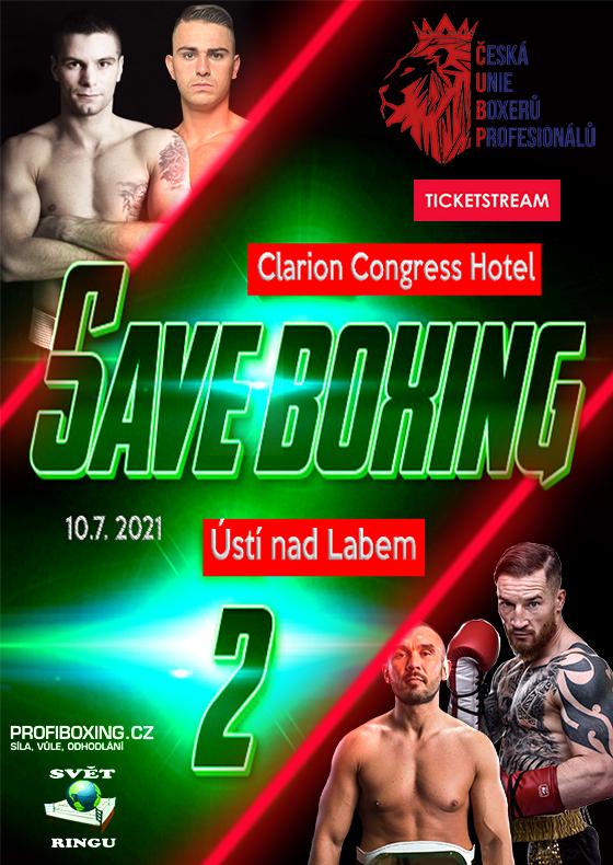 Save Boxing II.<br>Záznam