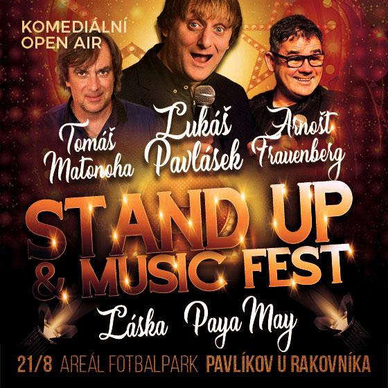 Stand Up & Music Festival<br>Komediální open air