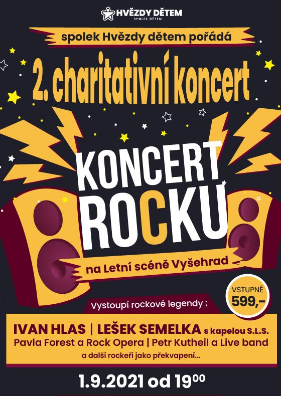Charitativní koncert Hvězdy dětem