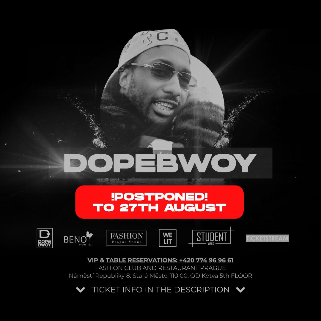 Beno Invites<br>Dopeway Live At Fashion
