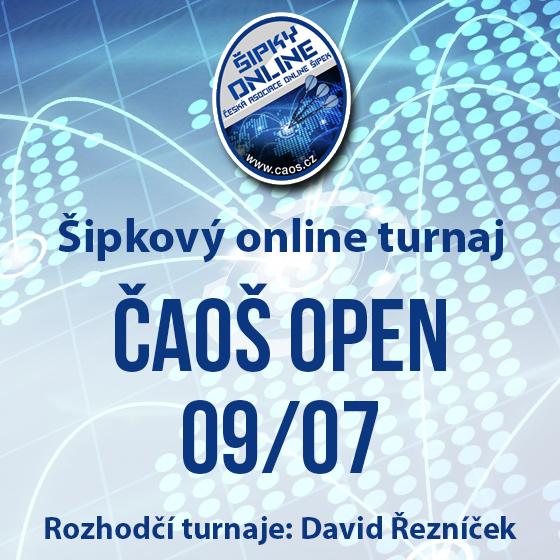 Šipkový turnaj - ČAOŠ OPEN 09/07