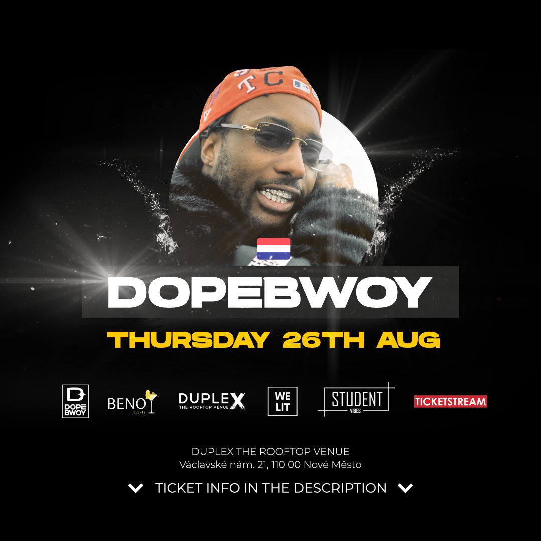 Beno Invites<br>Dopebwoy Live