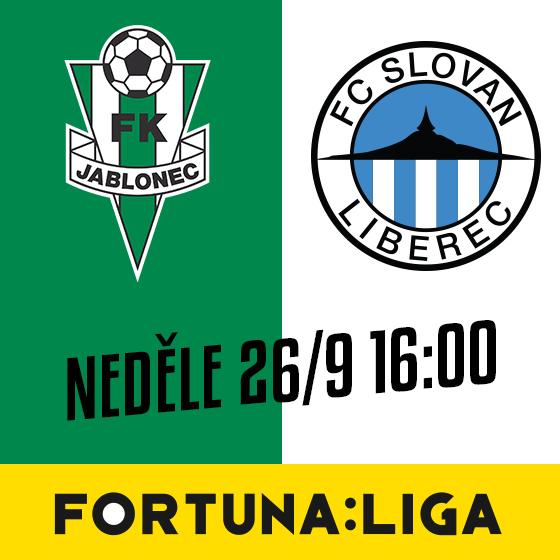 FK Jablonec vs. FC Slovan Liberec<br>SEZÓNA 2021/2022<br>Fortuna:Liga