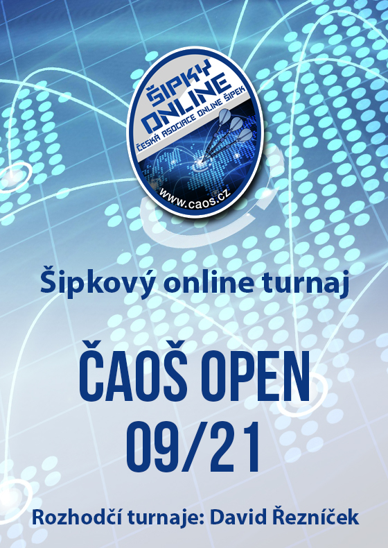 Šipkový turnaj - ČAOŠ OPEN 09/21
