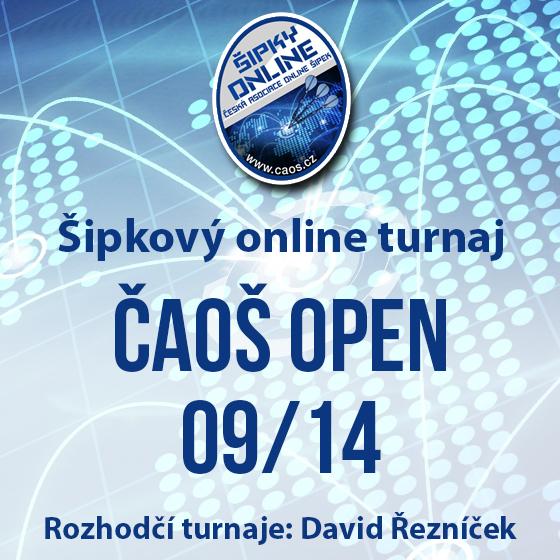 Šipkový turnaj - ČAOŠ OPEN 09/14