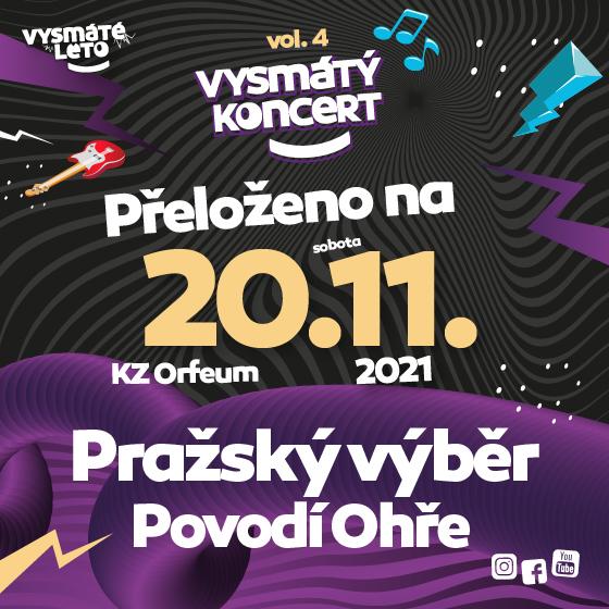 Vysmátý koncert volume 4<br>Pražský výběr, Povodí Ohře