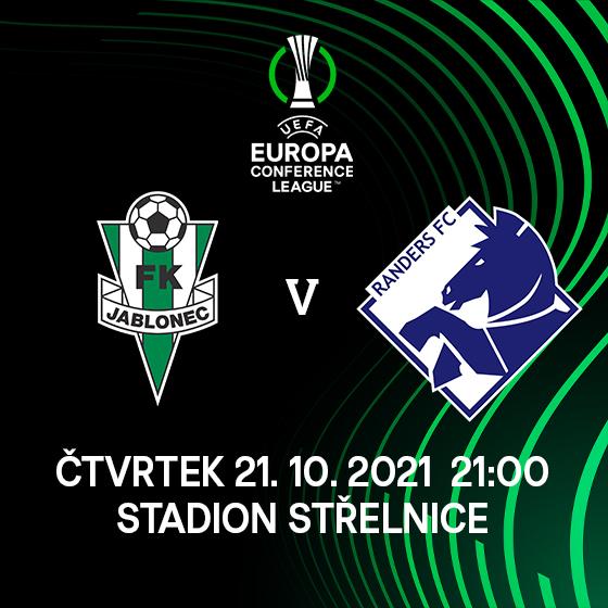 FK Jablonec<br>vs. Randers FC<br>UEFA Europa Conference League