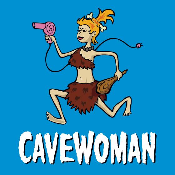 Cavewoman<br>Obhajoba jeskynní ženy