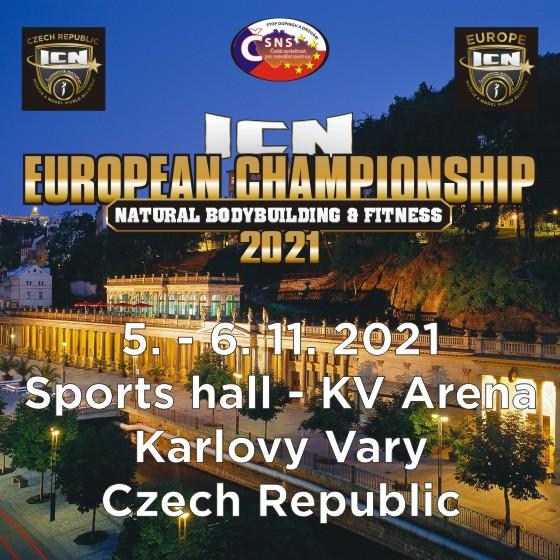 ICN Mistrovství Evropy v naturální kulturistice a fitness<br>Muži, ženy a děti