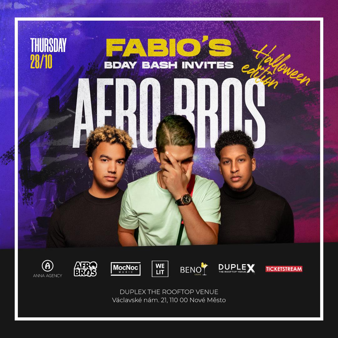 Afro Bros<br>in Duplex Halloween