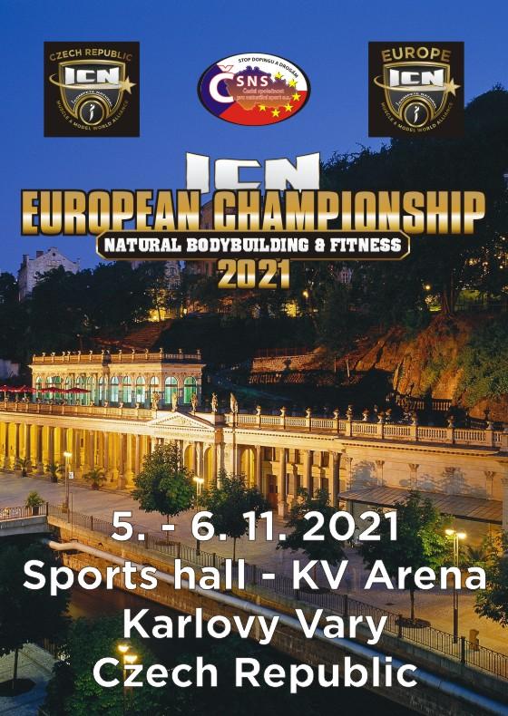 ICN Mistrovství Evropy v naturální kulturistice a fitness